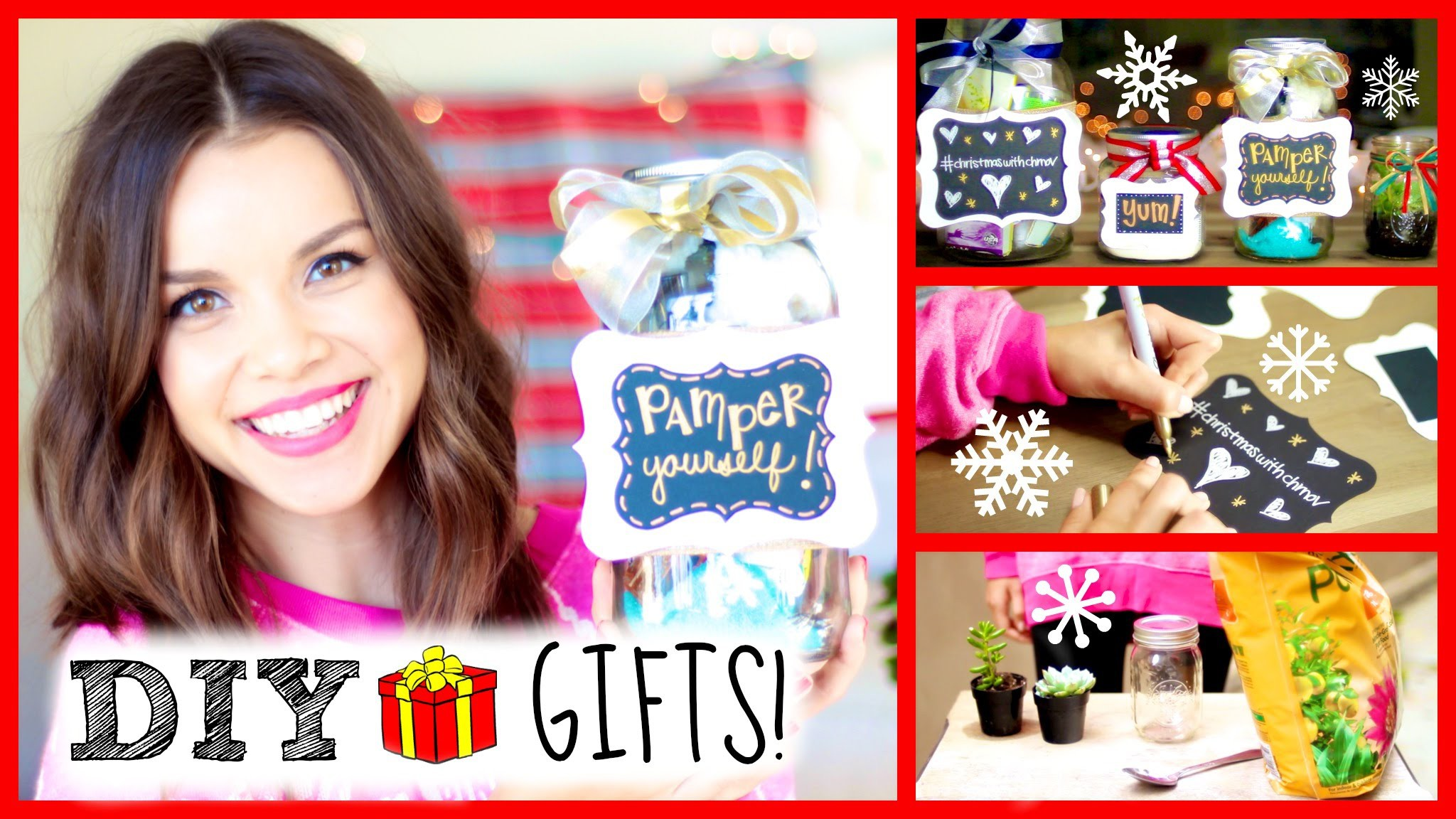 DIY Holiday Gift Ideas ❄ Super Easy + Affordable!
