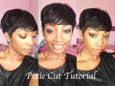 DIY - How To Cut & Style A Pixie Wig