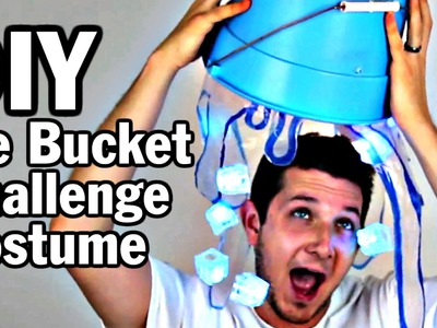 DIY Ice Bucket Challenge Costume