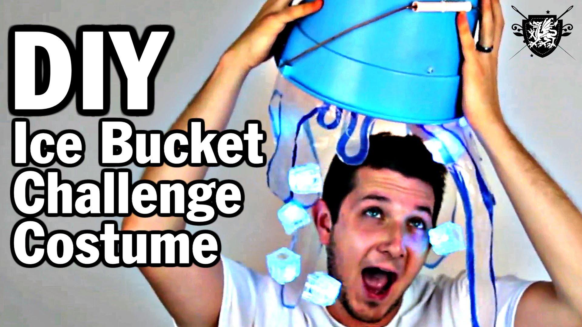 DIY Ice Bucket Challenge Costume