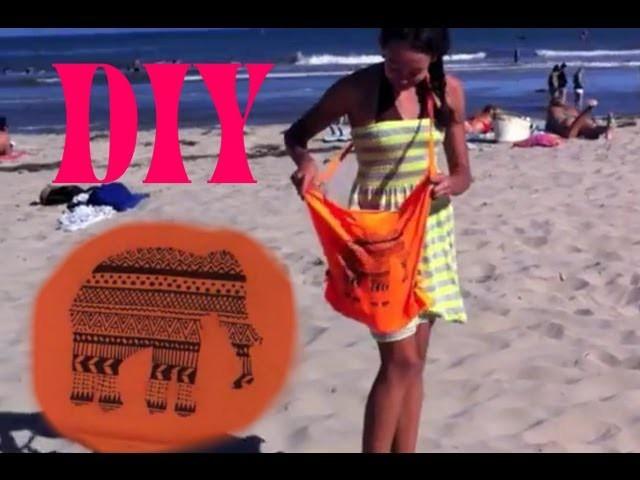DIY NO SAND Beach Bag! -HowToByJordan