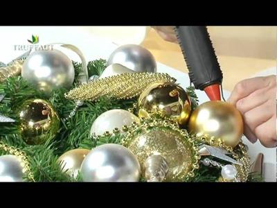 DIY Noël : une couronne de l'Avent