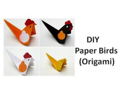 DIY - Paper Birds (Origami)