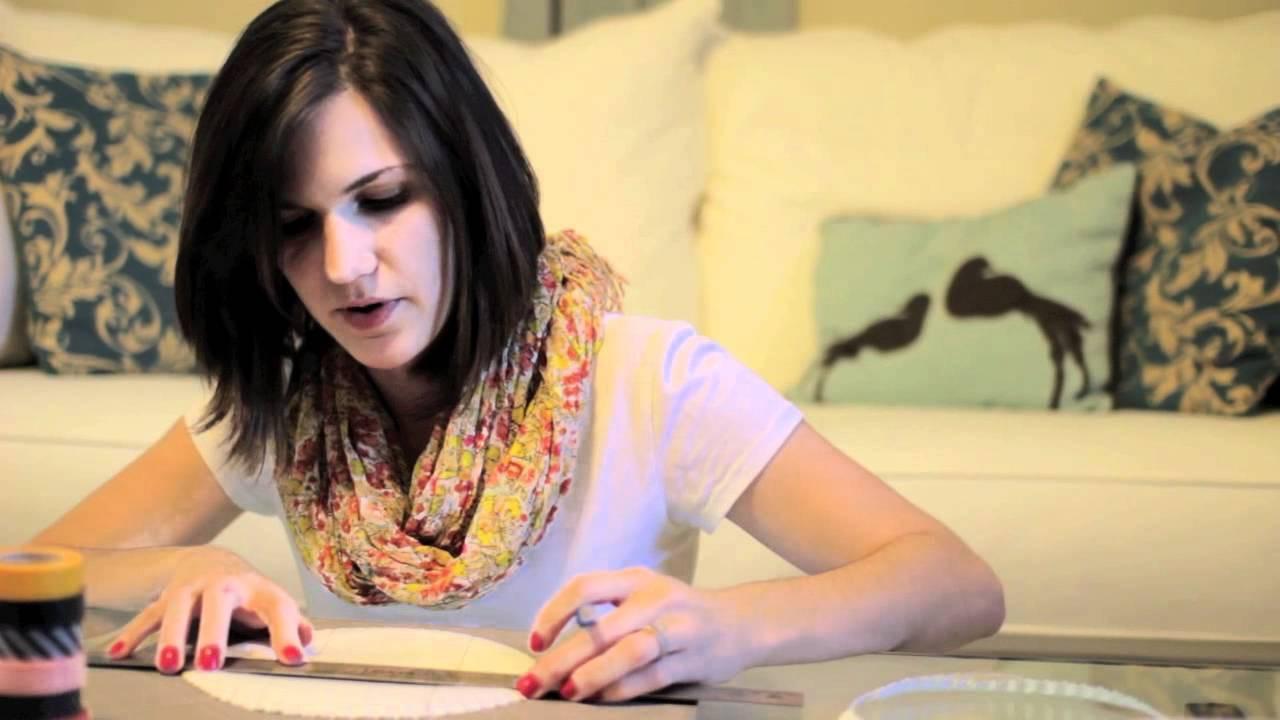 DIY Paper Plate Basket Tutorial - Sarah Hearts DIY