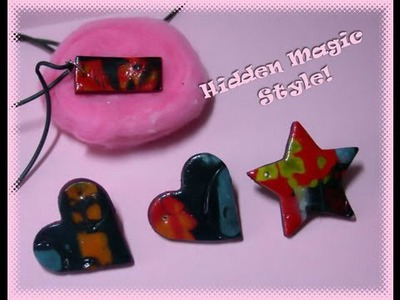 DIY Polymer clay: Hidden Magic style!