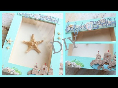 DIY Room.Apartment Decor: Framed Starfish [BEACH THEMED]