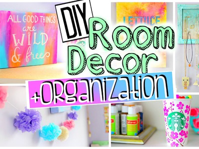 DIY Room Decorations and Organization | Spice up your room for 2015! JENerationDIY
