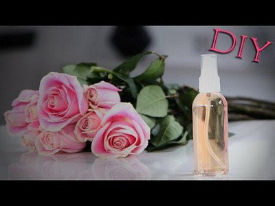 DIY Rosewater Spray | Lazy Girls Guide to Beauty