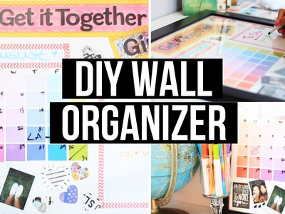 DIY Wall Organizer & Back 2 School Giveaway! | LaurDIY