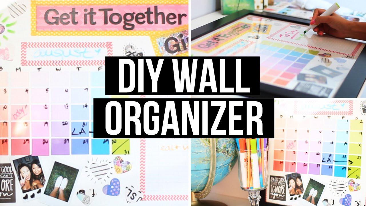 DIY Wall Organizer & Back 2 School Giveaway! | LaurDIY