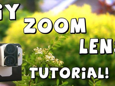 DIY Zoom.Telephoto Lens Tutorial