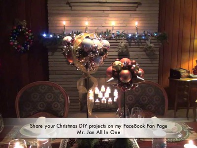 Do It Yourself Christmas Decorations with Steve Jan