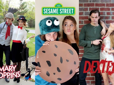 Easy DIY Couple Costumes | Last Minute!