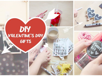 Easy DIY Gifts for VALENTINE'S DAY!