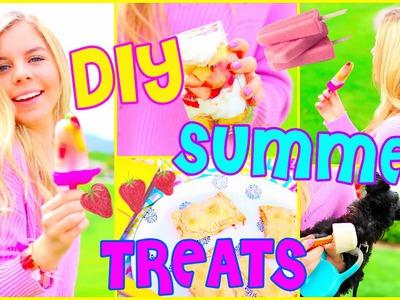 Easy DIY Summer Treats!