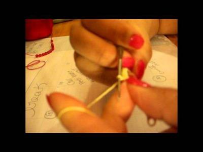 Easy to make crochet earrings