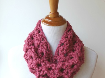 Episode 158: How To Crochet the Agnes Lace Cowl