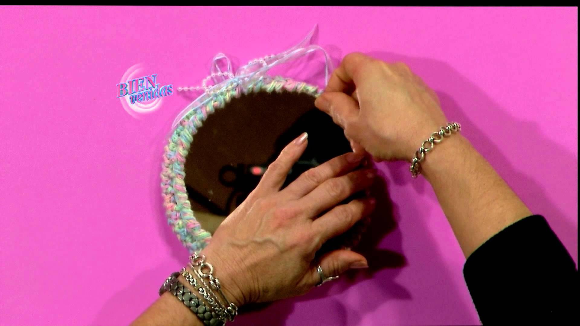 Escuela de Crochet - Cubre Espejo