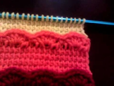 Failed Crochet Afghan Stitch Tunisian - Crochet Shell