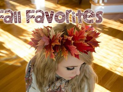 Fall Favorites- DIY and PSL
