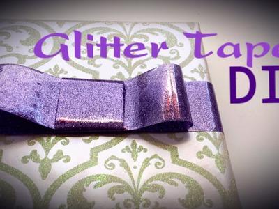 Glitter Tape DIY   By Craft Happy Summer
