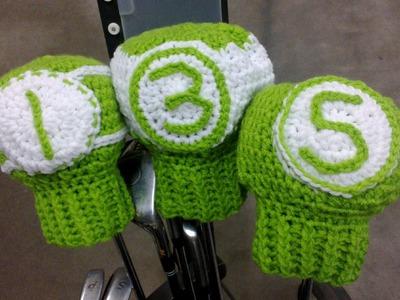 Golf Club Covers Crochet Tutorial