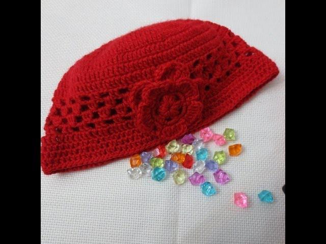 Gorro de crochet 3 parte