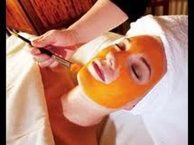 Homemade Pumpkin Facial Mask for all Skin Types DIY