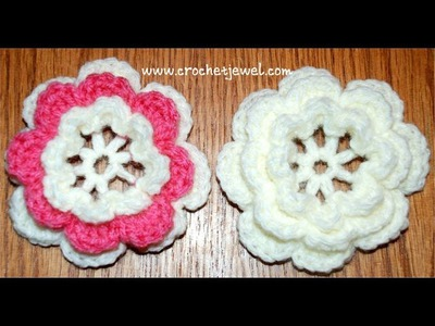 How to Crochet a Flower Part I