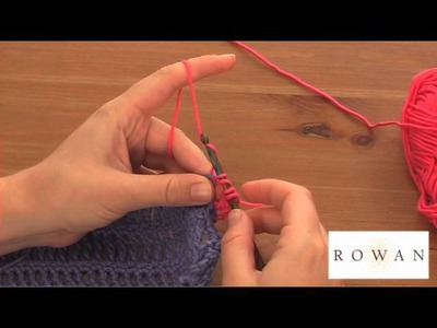 How to Crochet: double trebles, with Rowan Yarns
