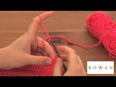How to Crochet: half trebles, with Rowan Yarns