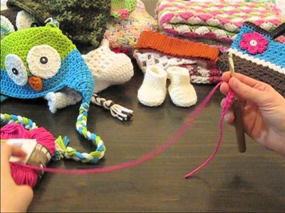 How to Crochet Lesson for Beginners:  Learn How to Crochet!