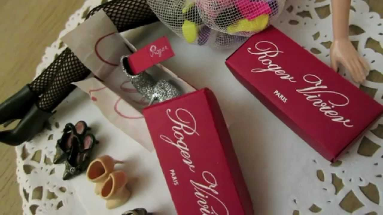How to DIY Miniature Shoe Box With Warranty Card?自製迷你鞋盒