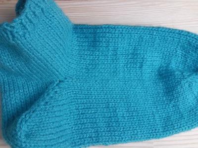 How to knit socks lefty tutorial