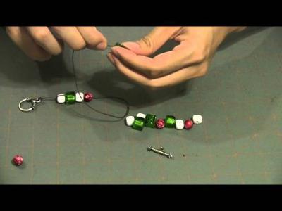 How to Make a Chunky Christmas Bead Bracelet