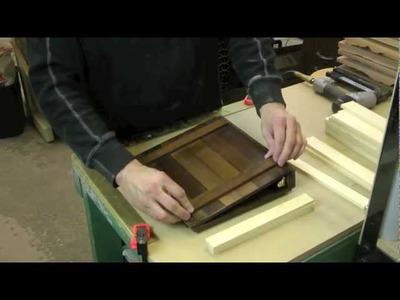 How To Make A Rustic Wooden Scrapbook. Binder