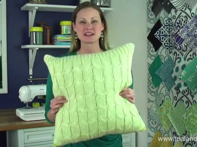 How to Make an Easy Sweater Pillow Cover