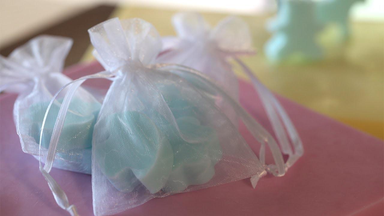 How to Make Mini Soap Favors || KIN DIY