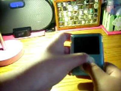 HOW TO RESTART UR IPOD NANO & secret menu on ipod nano