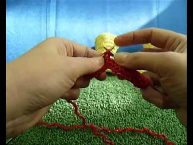 Как связать пинетки-сапожки на двух спицах - 5. How to knit baby booties shoes very easy - 5