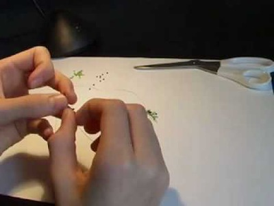 Kid Crafts: Beading Project (How to make a frog)
