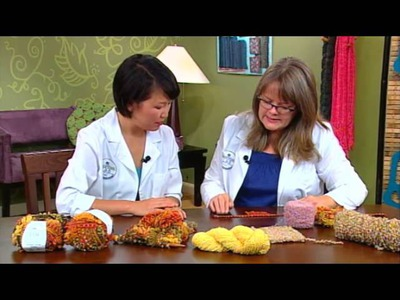 Knitting Daily TV Yarn Spotlight, Episode 1009 - Boucle