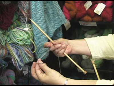 Knitting Instructional Video:  How to Do a Long Tail Cast On