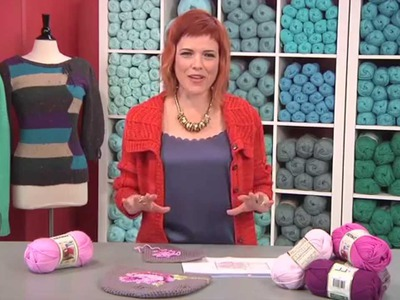 Loose Ends: How To Add a Cross-Stitch Motif to your Crochet Project