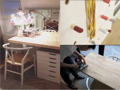 Makeup Desk DIY | essiebuttonvlogs