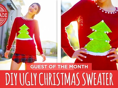MayBaby DIY Ugly Christmas Sweater - December Guest of the Month - HGTVHandmade