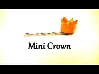Mini Crown   DIY Hair Accessory by Craft Happy