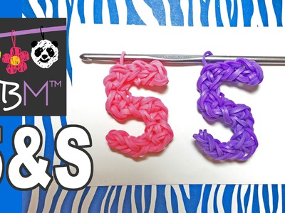 Number Five or Letter S Charm Using Just the Hook