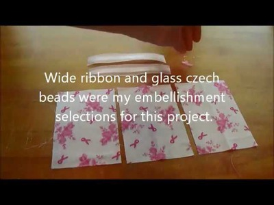 Online Craft Classes Pocket Tissue Cover Tutorial