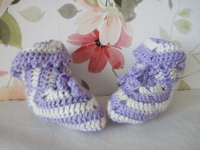 ПИНЕТКИ из квадрата Booties Crochet